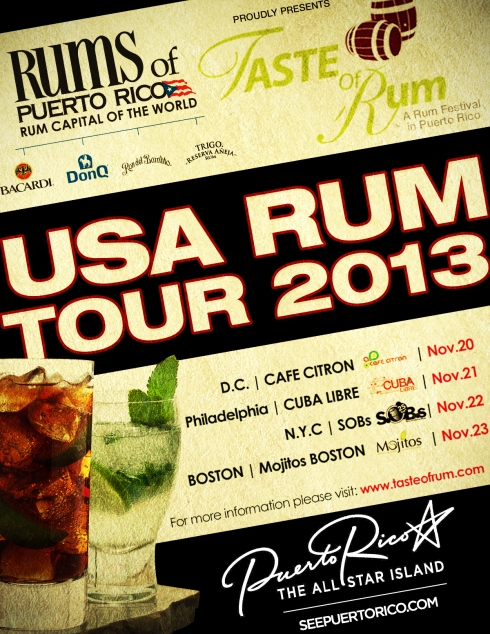 Rum Shaker: A tour of rums from Puerto Rico hits East Coast